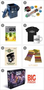 Doctor Who 10th Anniversary Competition Prizes