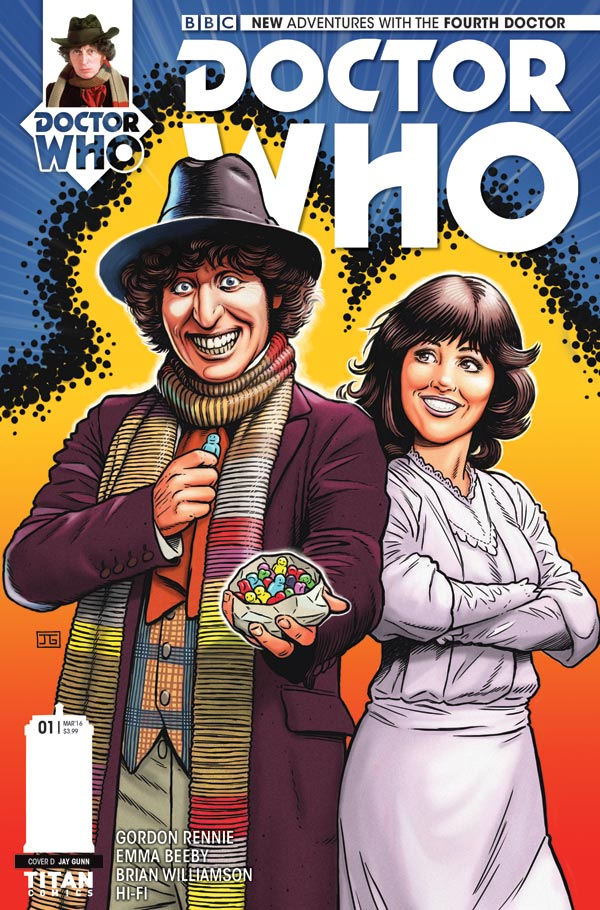4th Doctor Comics - Titan Comics