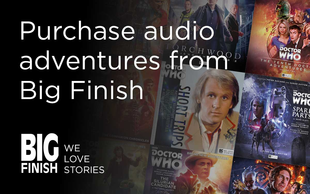 Audio adventures from Big Finish