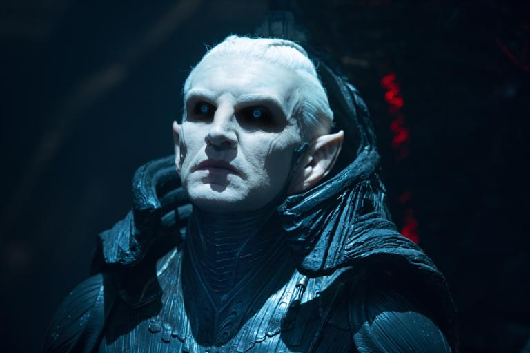 Eccleston is the lord of the Dark Elves