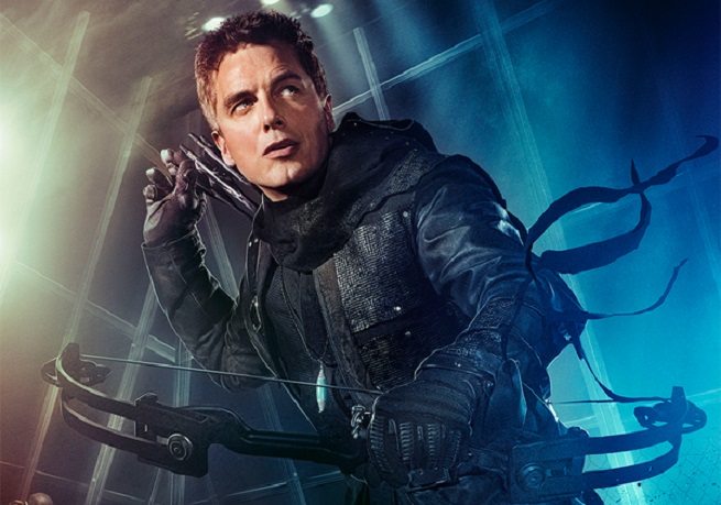 Barrowman as The Dark Archer in Arrow