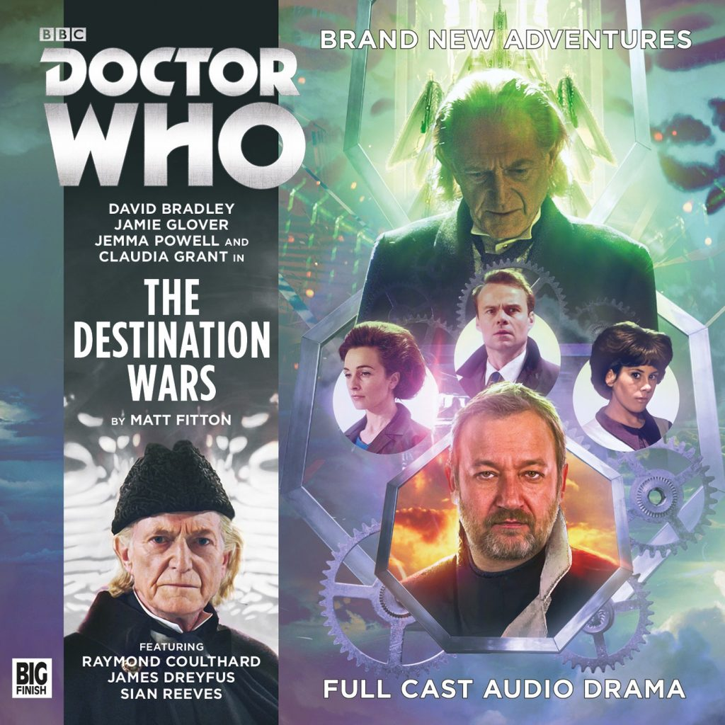 The 1st Doctor audio story The Destination Wars from Big Finish