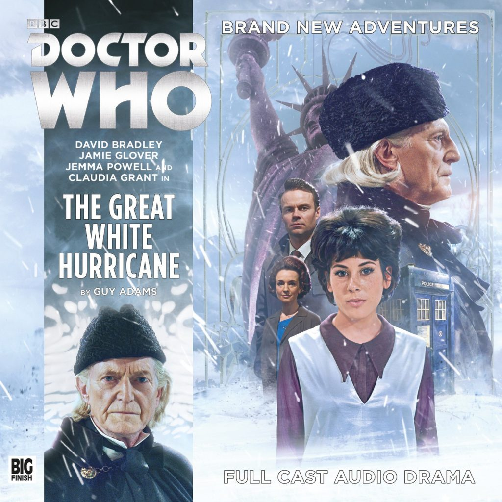 The 1st Doctor audio story The Great White Hurricane Wars from Big Finish
