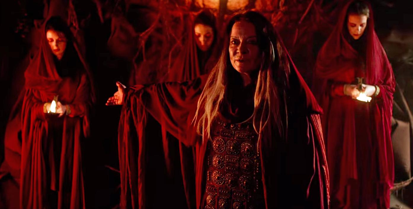 The Sisterhood of Karn, led by Ohila