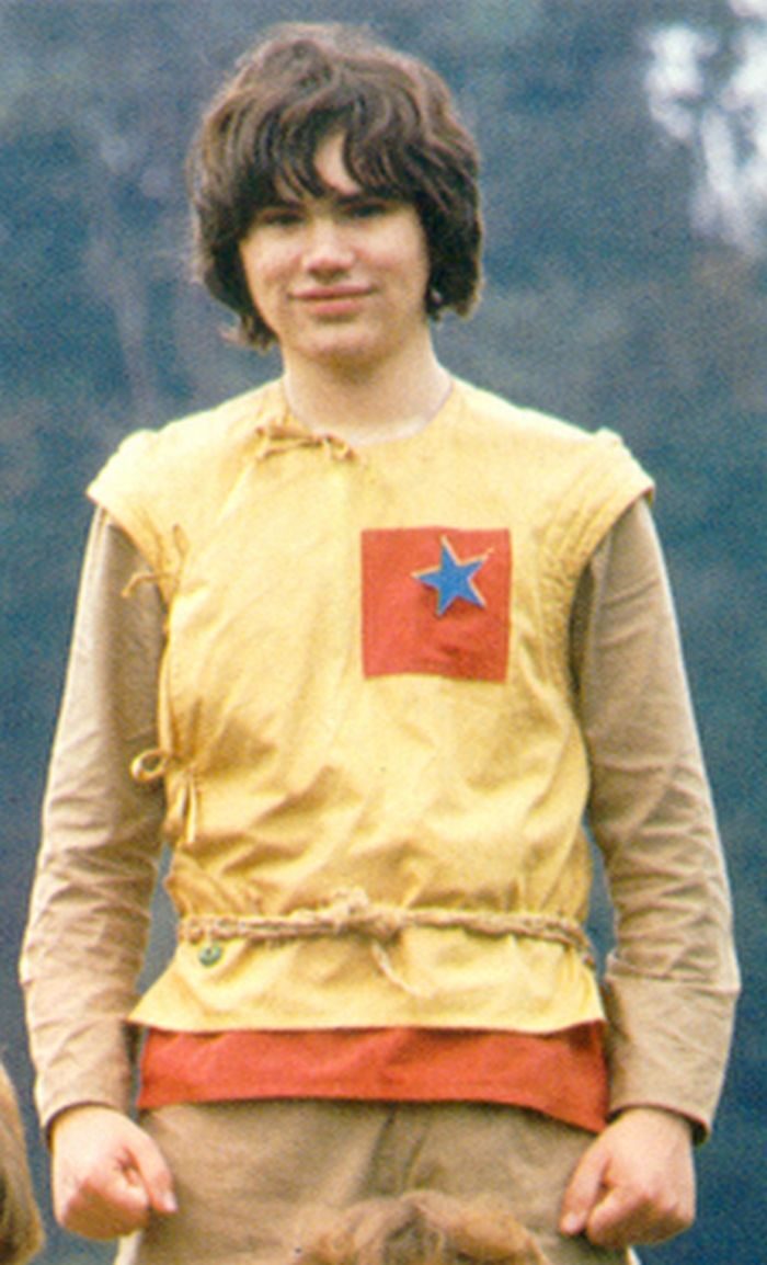 Adric, the young Alzarian played by Matthew Waterhouse