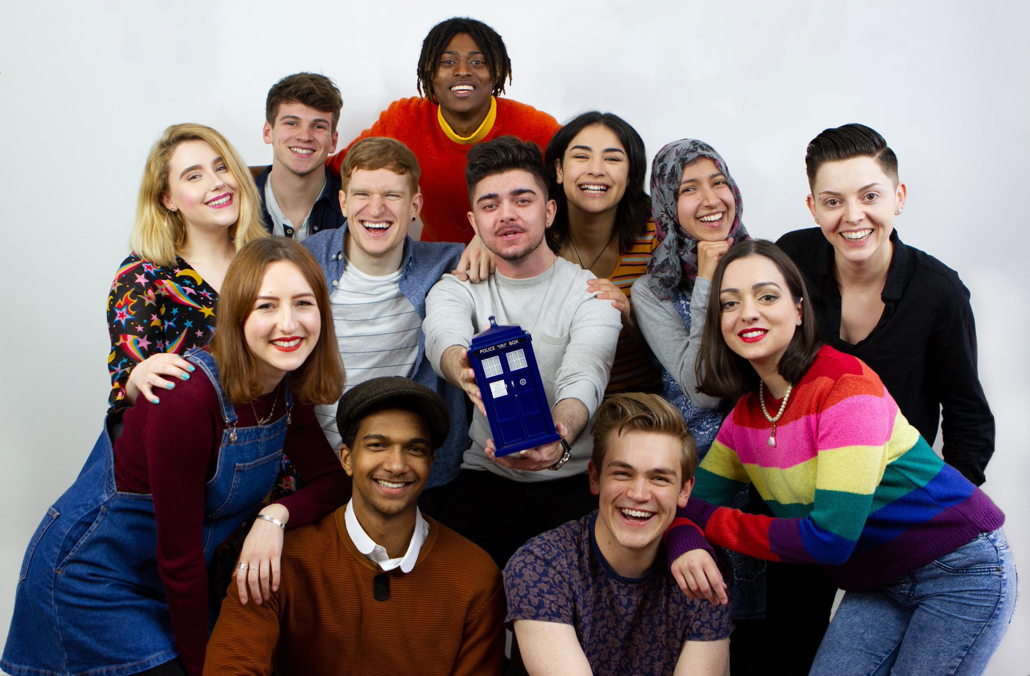 The class of 2018 - The new Time Team at Doctor Who Magazine