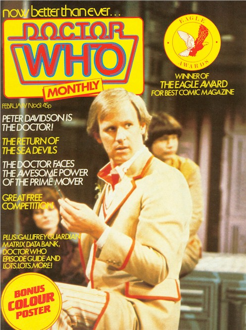 Doctor Who Magazine Issue 61