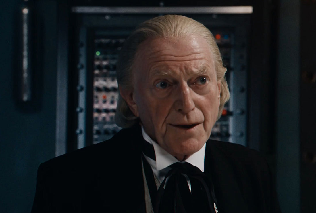 David Bradley captures the essence of the doctor but not the authority