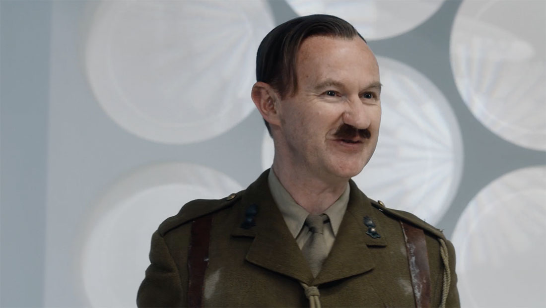 Mark Gatiss plays an ancestor of the Brigadier