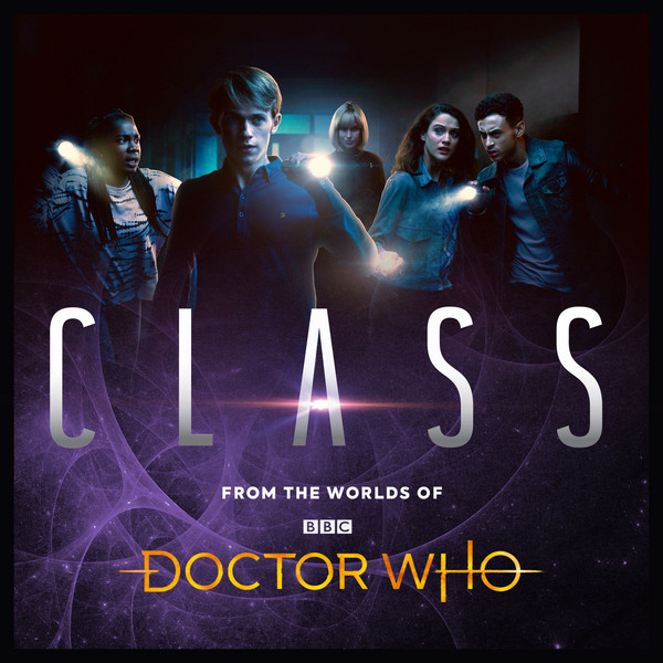 Artwork for Volumes 1 & 2 of Class from Big Finish