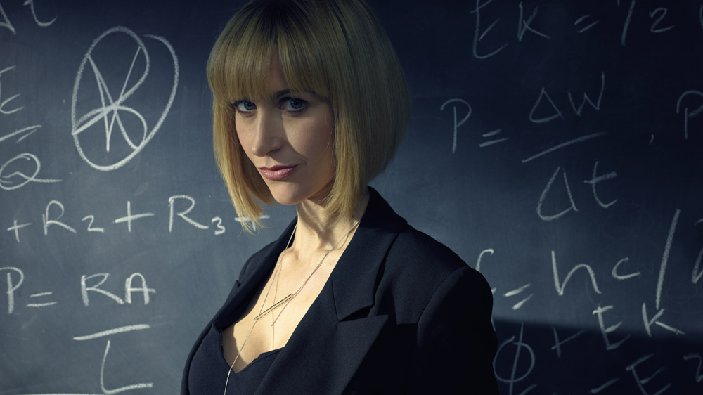 Katherine Kelly as the the mysterious Ms. Quill