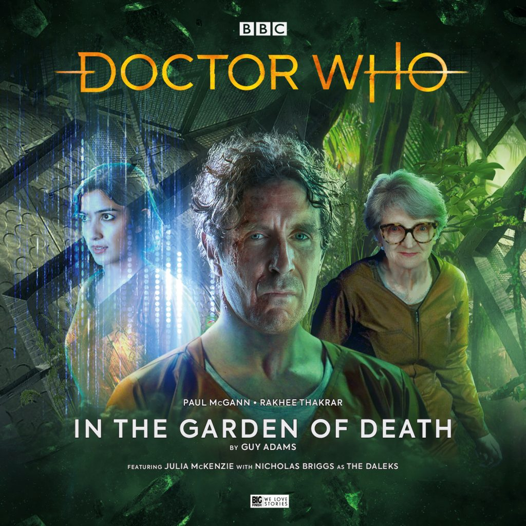 """In the Garden of Death"" cover artwork"