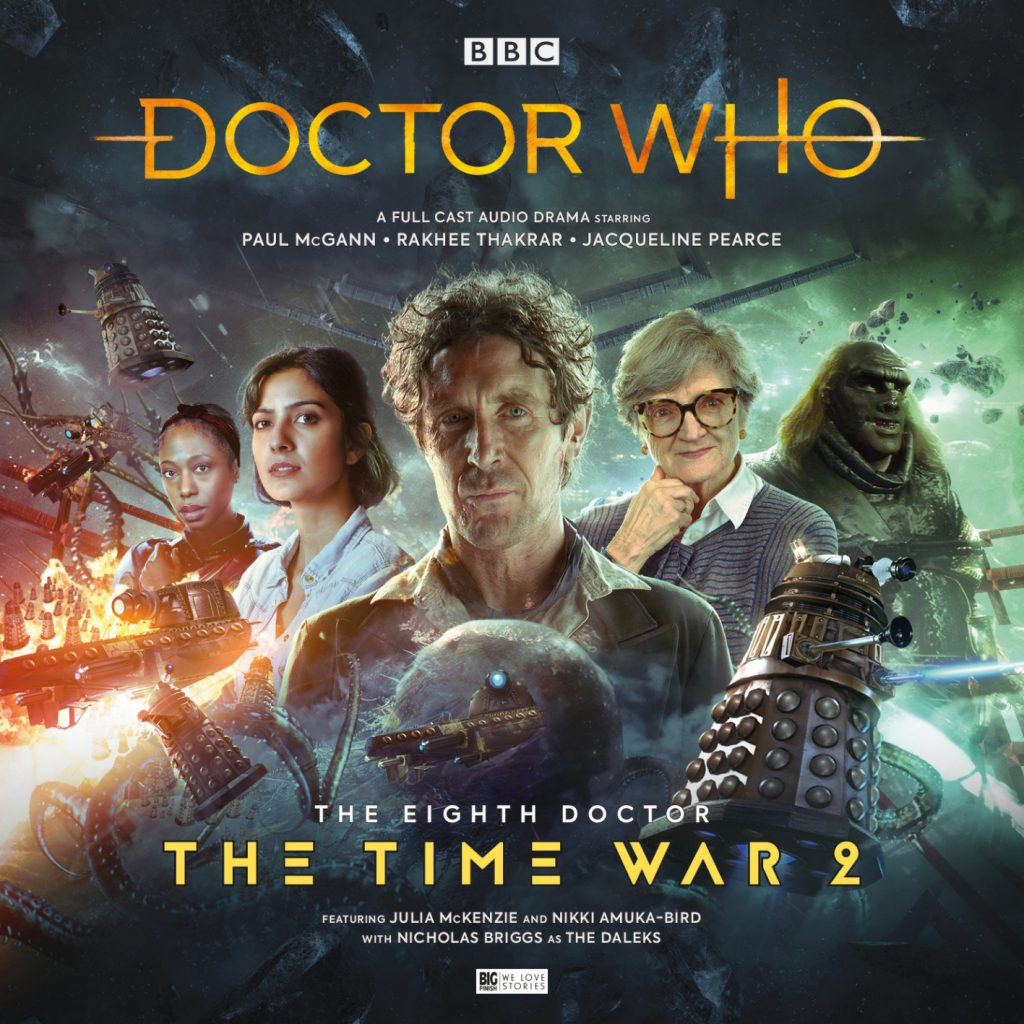 "Slipcase artwork for ""The Time War 2"""