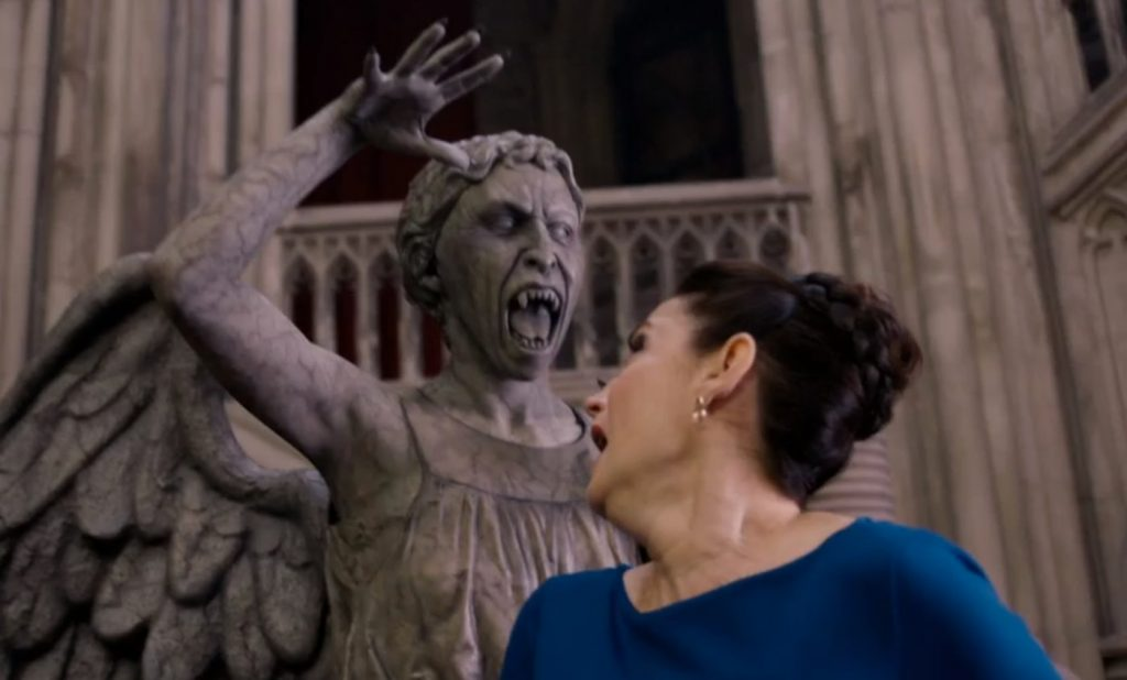 The Weeping Angels make a terrifying return in the finale