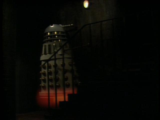 Viewers were left stunned when the Dalek flew for the first time!