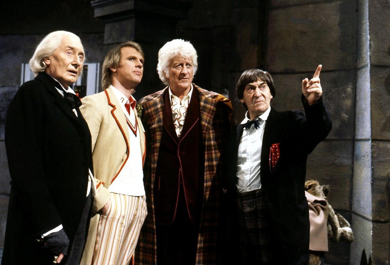 Richard Hurndall as the First Doctor - 'The Five Doctors' (1983)