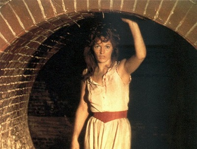 Louise Jameson as Leela in a publicity shot for, The Talons of Weng-Chiang