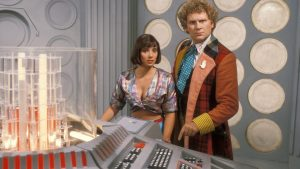 The Sixth Doctor and Peri
