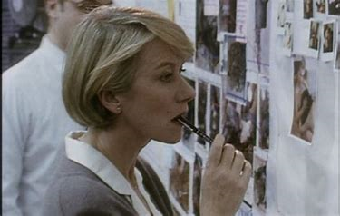 Helen Mirren as Jane Tennison, one of the first female Detective Chief Inspectors in Greater London's Metropolitan Police Service, as she rises to rank of Detective Superintendent whilst confronting the institutionalised sexism that exists within her job.