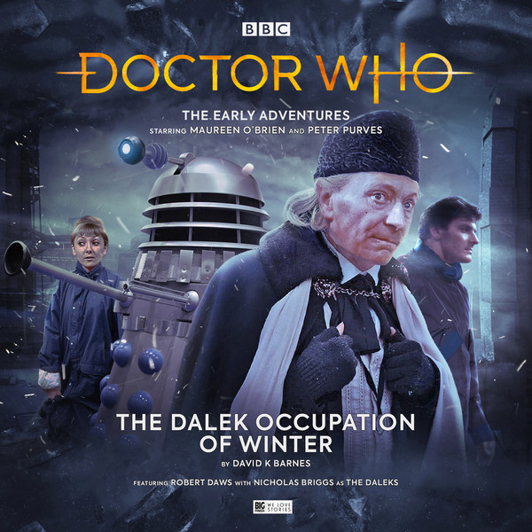The cover for The Dalek Occupation of Winter