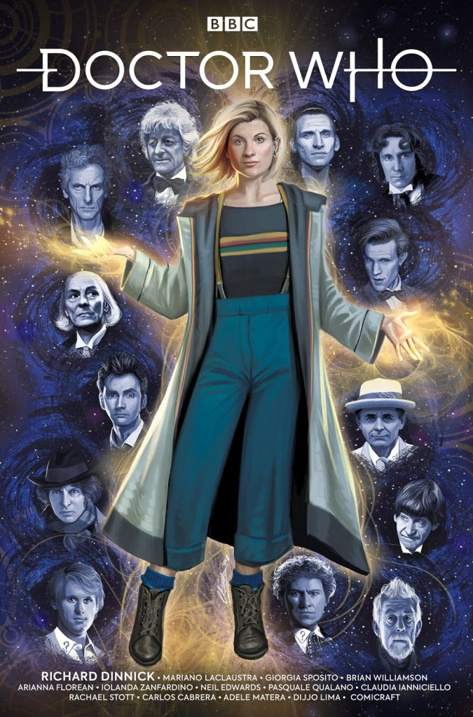 Claudia Ianniciello's Thirteenth Doctor #0 - Cover A