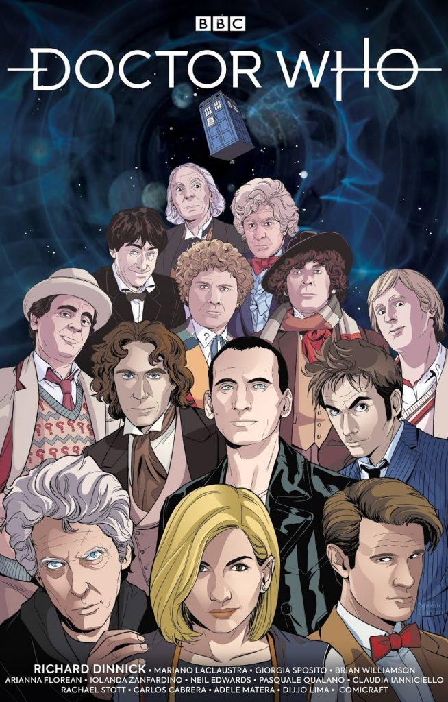 Giorgia Sposito's The Thirteenth Doctor #0 - Cover C