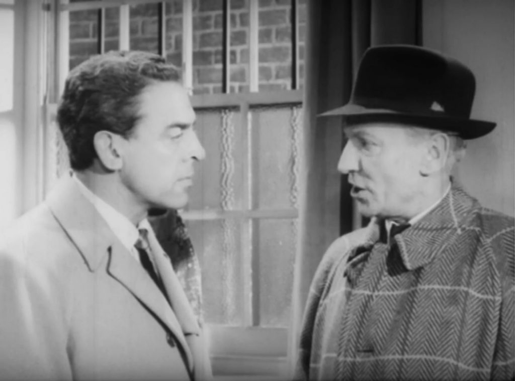 William Hartnell gives Eddie Byrne a good talking to in 'Jackpot' (1960)