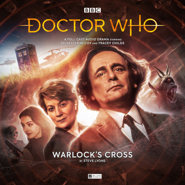 The Cover Art For Warlock's Cross