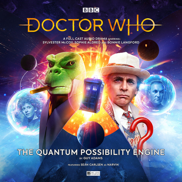 The Cover for Doctor Who: The Quantum Possibility Engine