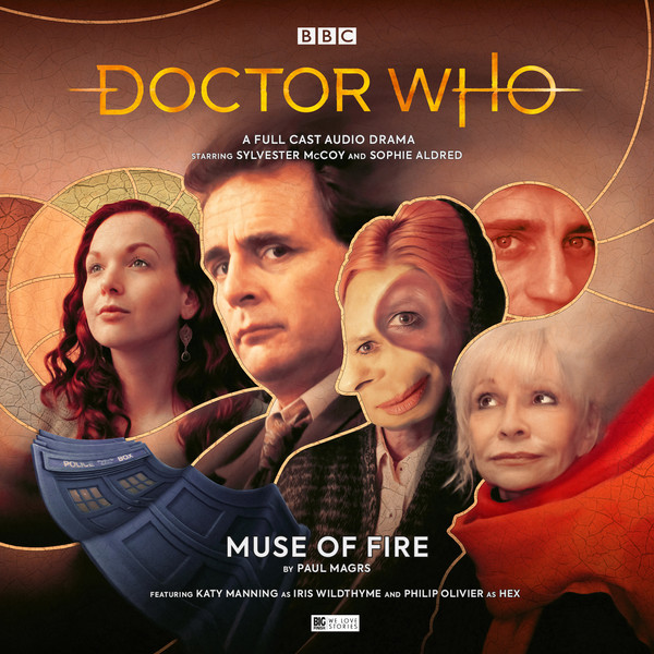 The cover art for Muse of Fire