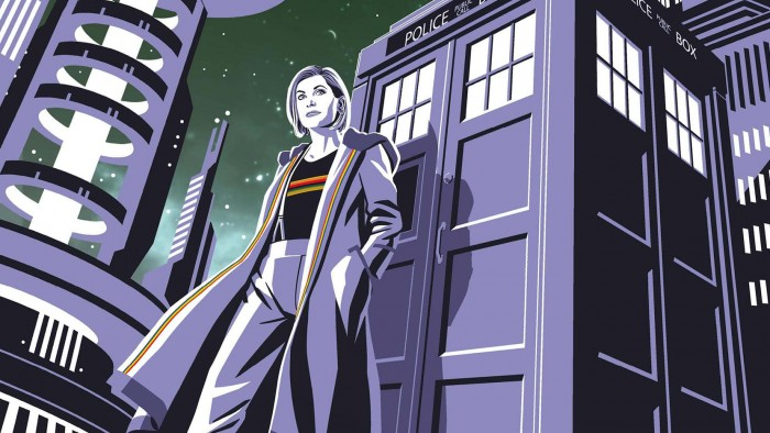 One of the variant covers for The Thirteenth Doctor #1
