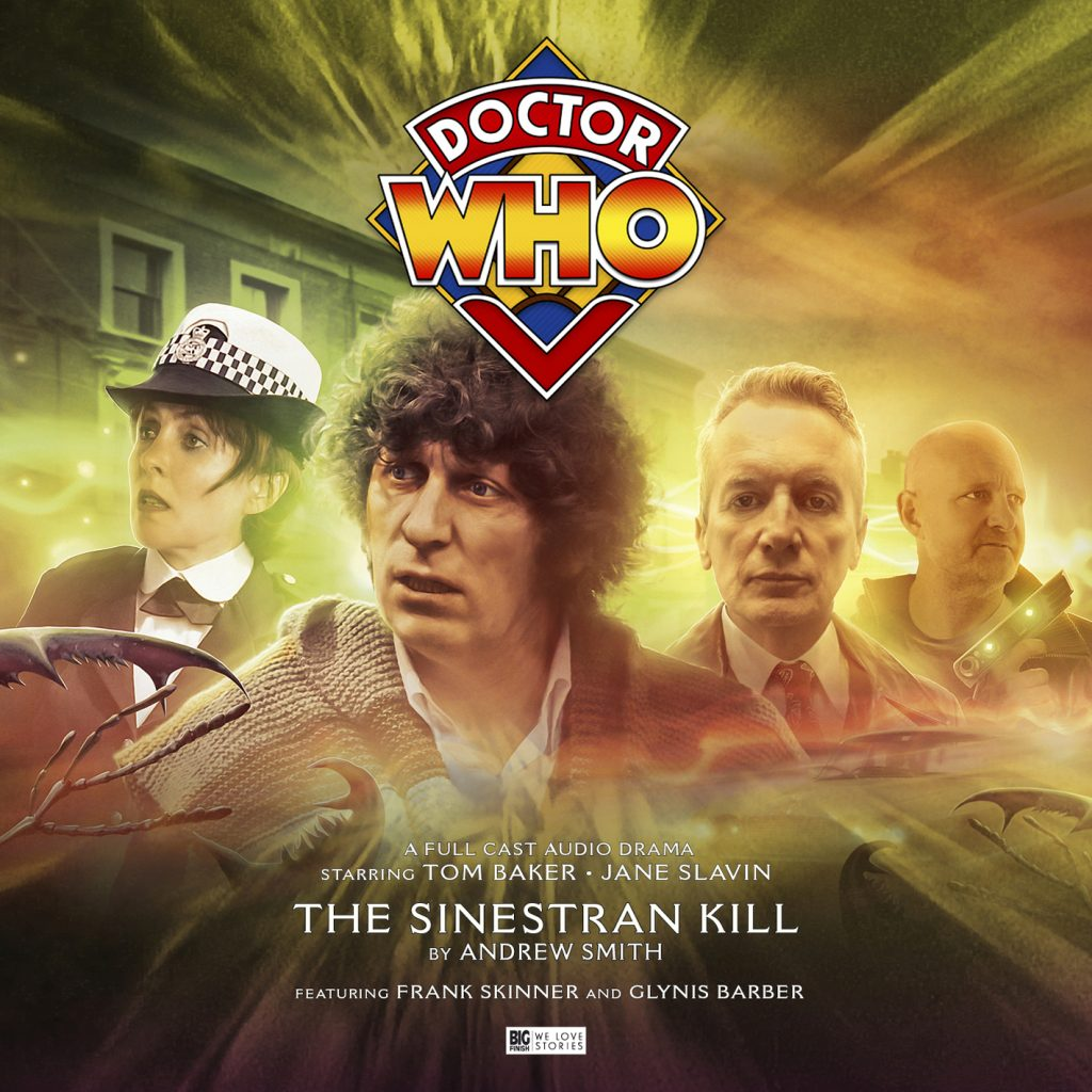 Cover artwork for 'The Sinestran Kill' by Andrew Smith