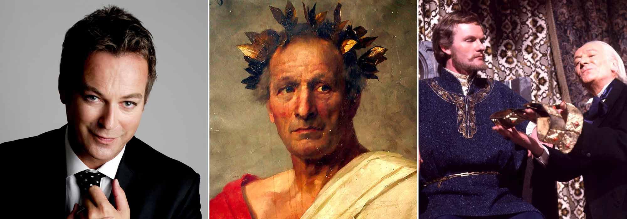 A) Julian Clary B) Julius Caesar C) Julian Glover