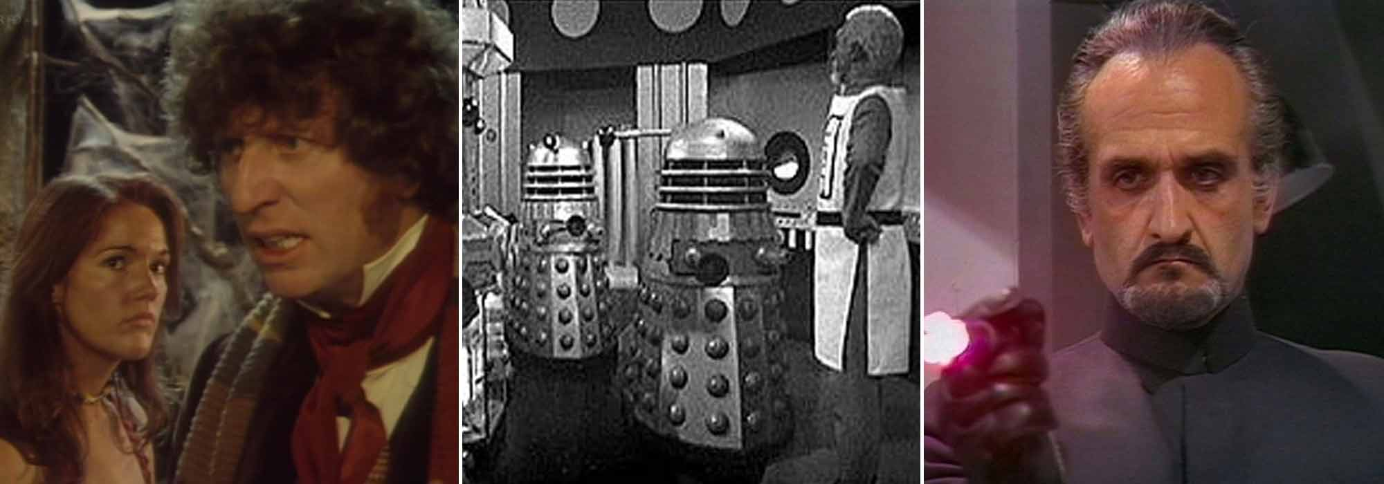 A) The Face of Evil B) The Dalek Masterplan C) Terror of the Autons