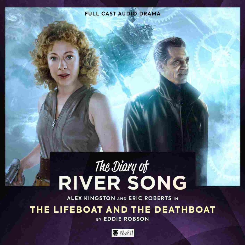 Cover Art for The Lifeboat and the Deathboat