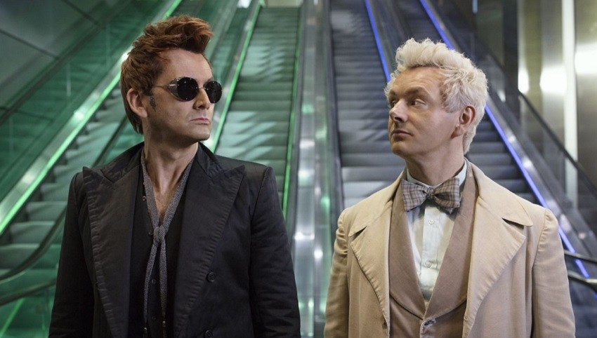 Michael Sheen will play the angel Aziraphale, and Tennant will take on the role of Crowley
