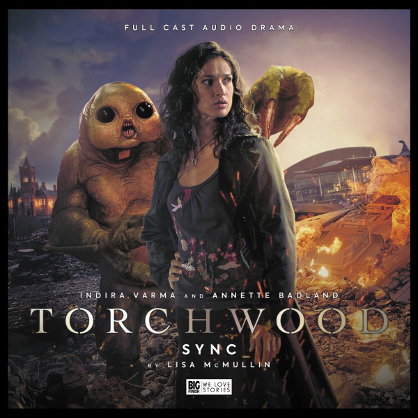 The Cover for Torchwood: Sync