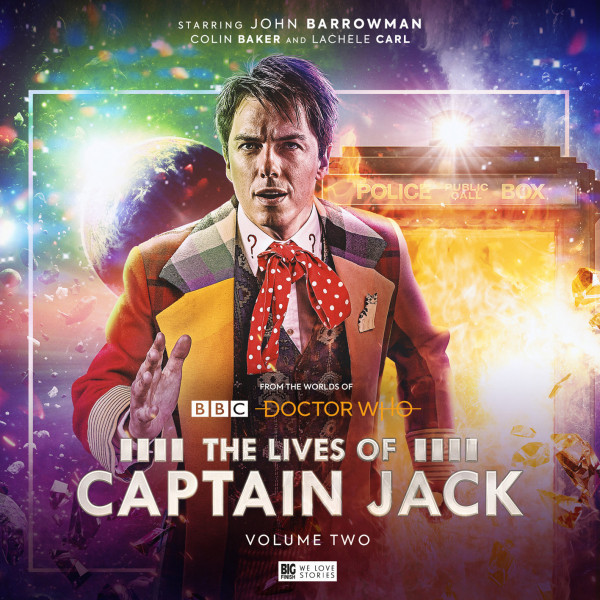 The Cover for The Lives of Captain Jack Volume Two