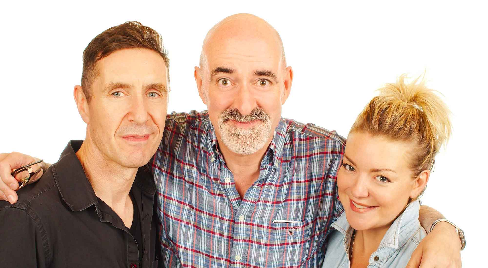 Nicholas Briggs, Paul McGann & Sheridan Smith AKA The Doctor & Lucie Bleedin' Miller