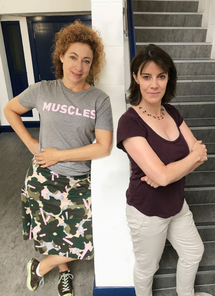 Alex Kingston and Lisa Bowerman