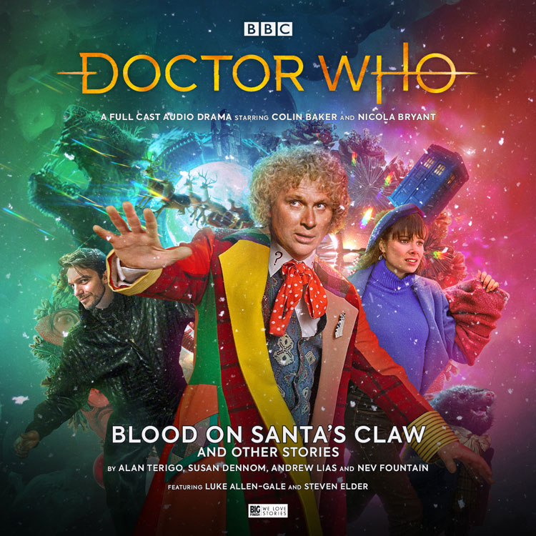 Cover art for Blood on Santa's Claw and Other Stories