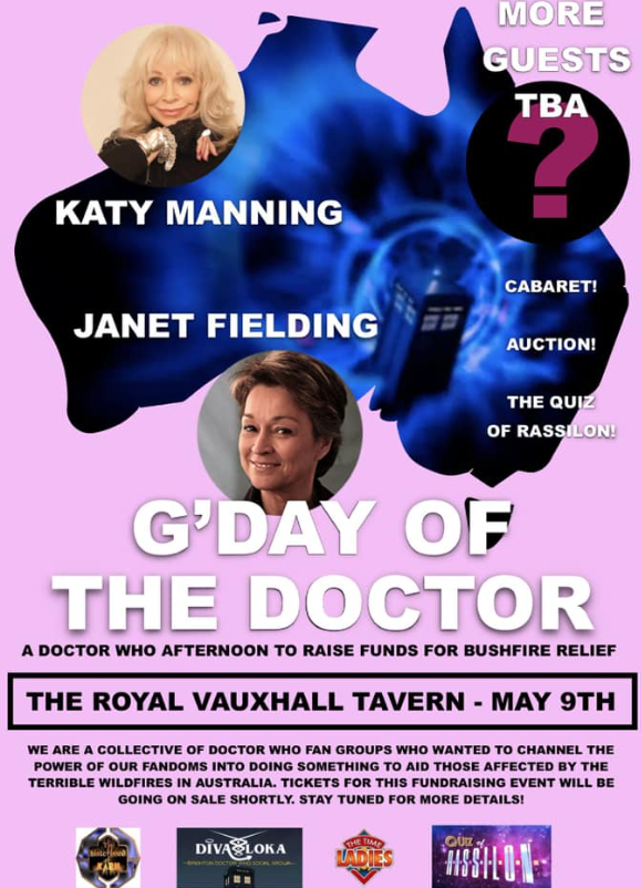 Promotion for G'Day of the Doctor