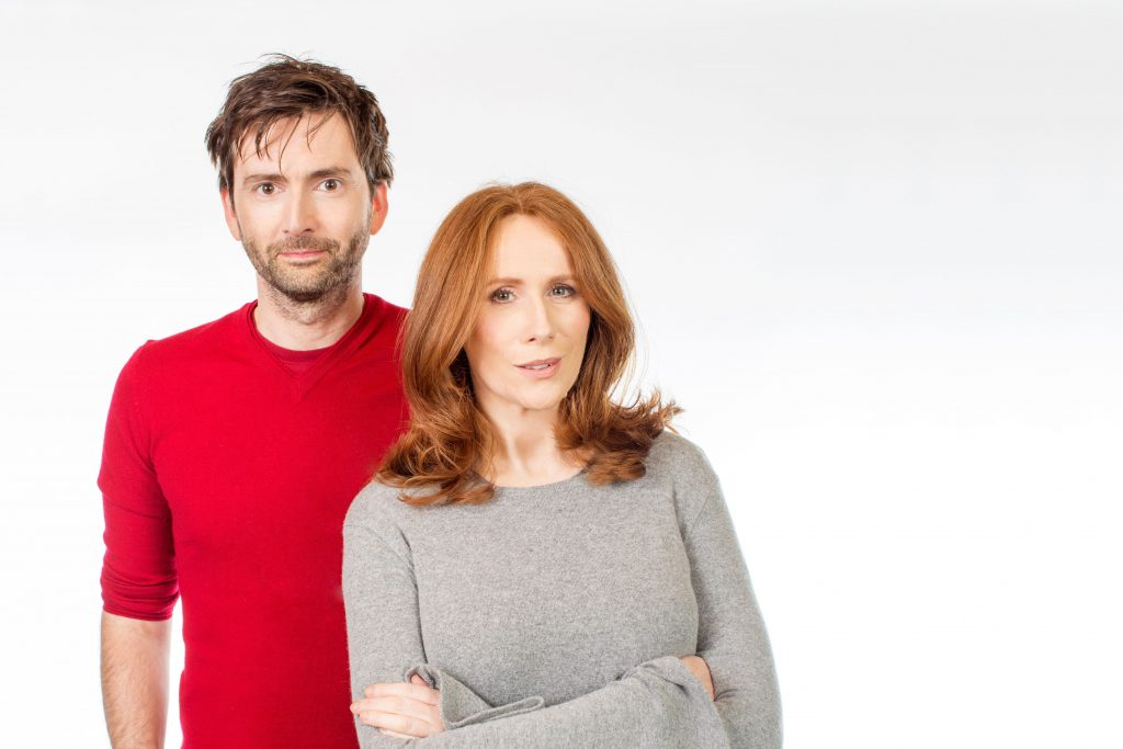 David Tennant and Catherine Tate at Big Finish