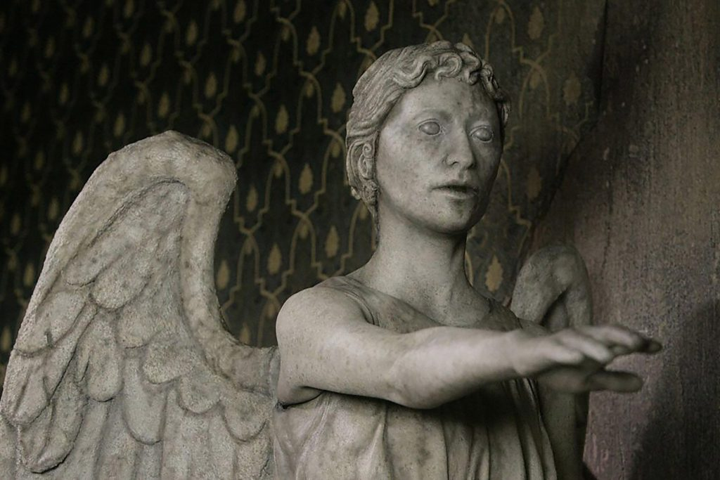 The Weeping Angels would return in the two-part story, The Whispers of Angels/Long Live the Queen.