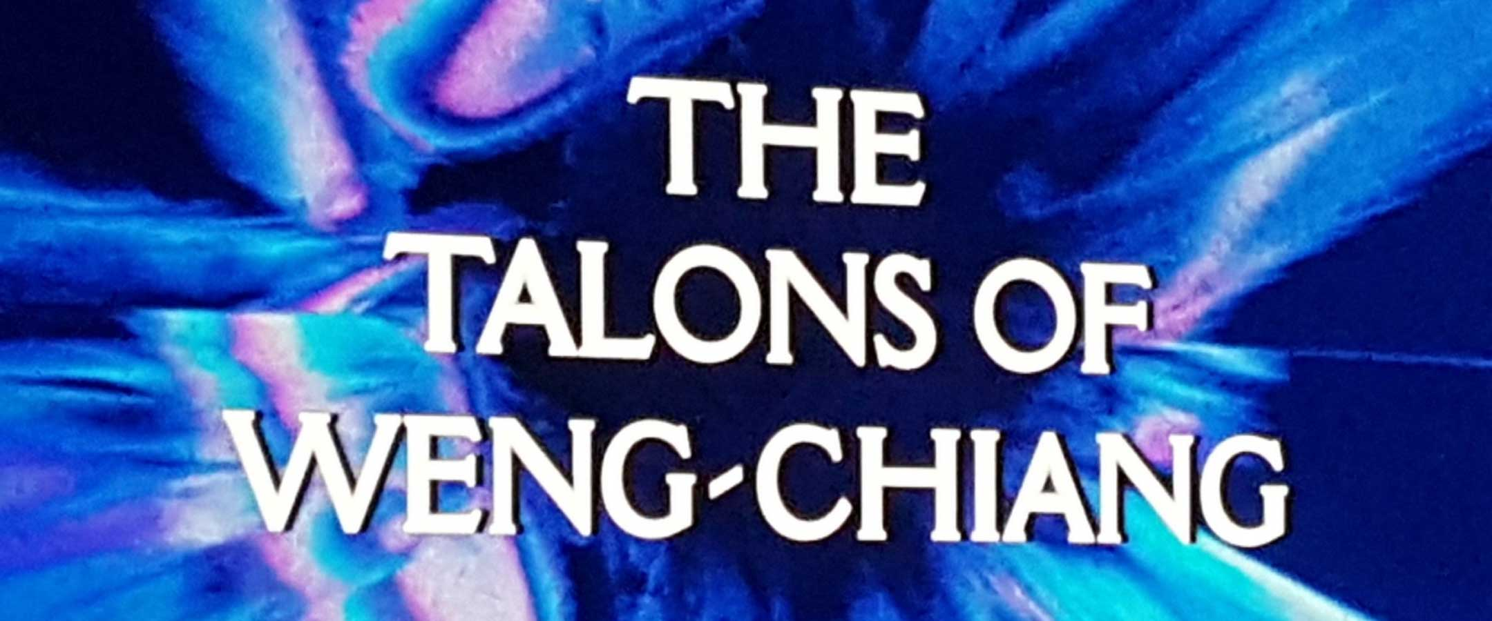 Report - The Talons of Weng-Chiang - BFI