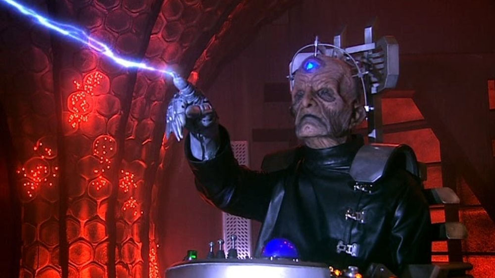 The two-part finale will see the return of Davros and the Daleks