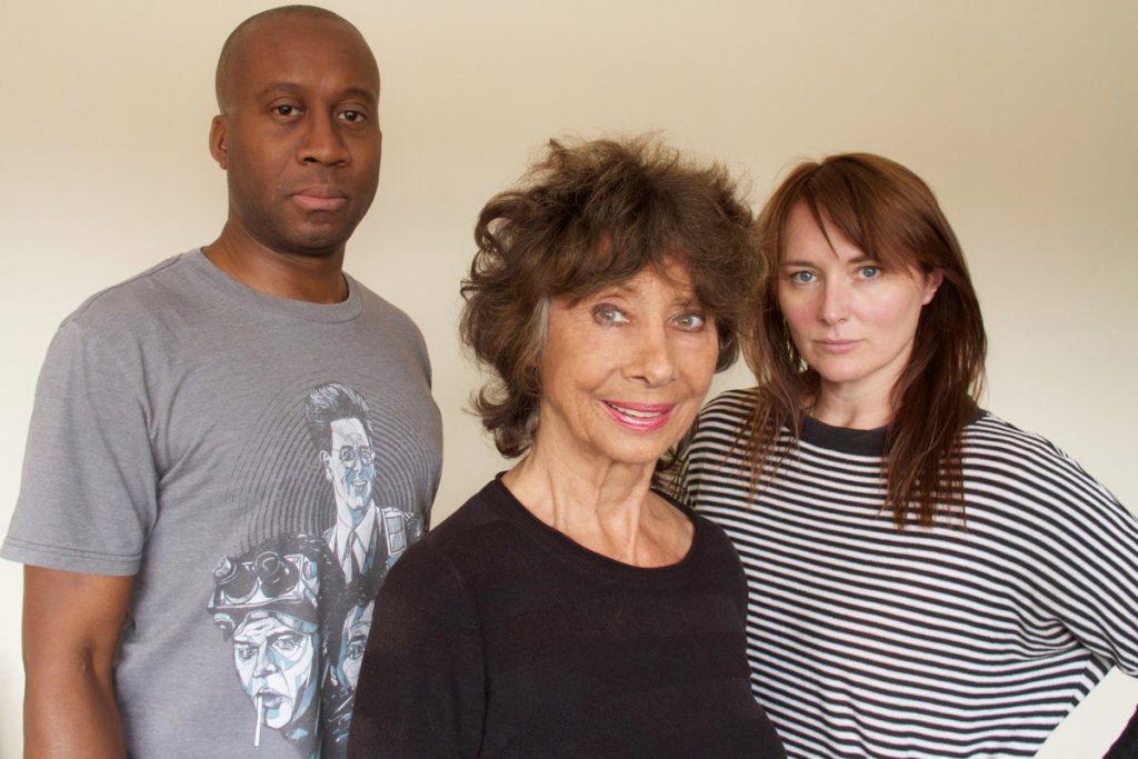 L to R: Damian Lynch as Cardinal Rasmus, Carole Ann Ford as Susan and Beth Chalmers as Veklin