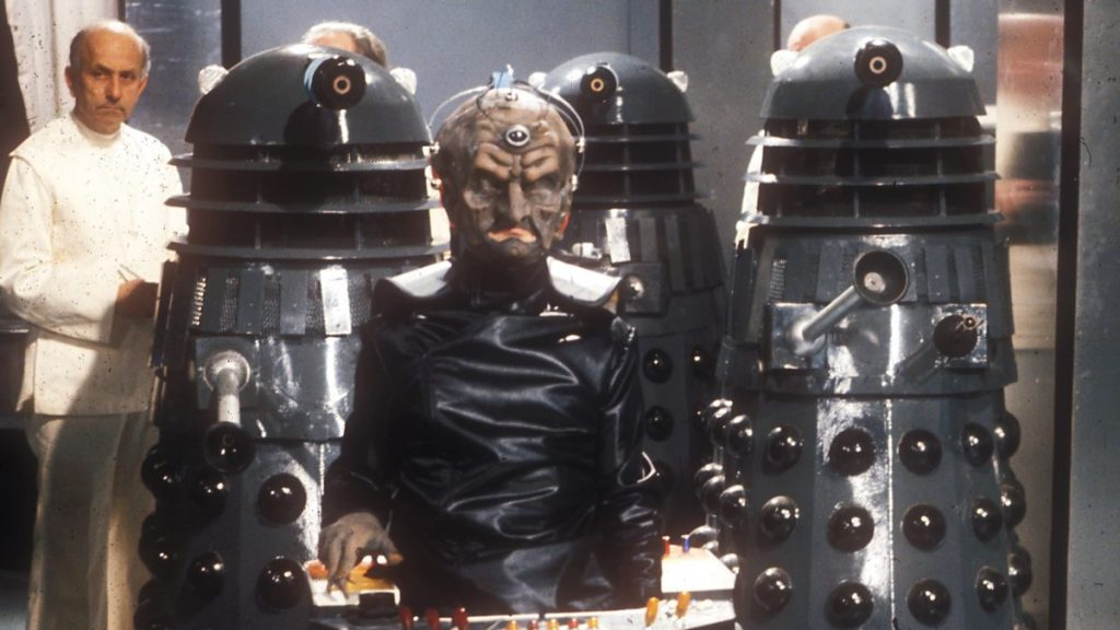 Davros and the Daleks will also return in the mirror universe