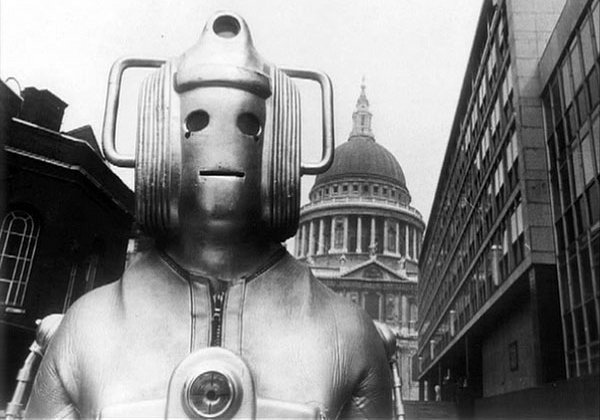 Part 2 of Conversion will see The Invasion era Cyberman and will be the first time George and Nate meet them