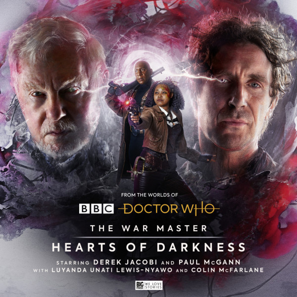 Big Finish The War Master Series 5 artwork for Hearts of Darkness
